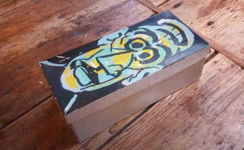 As shoebox